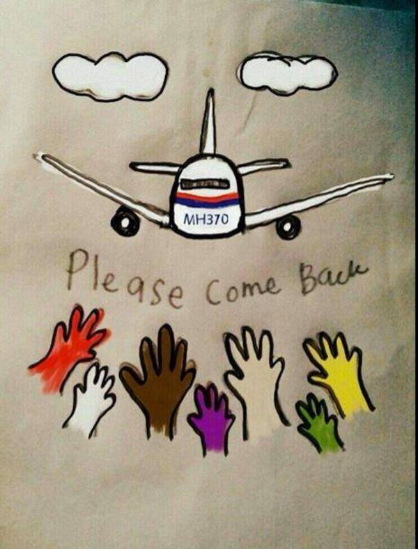 Come back MH370